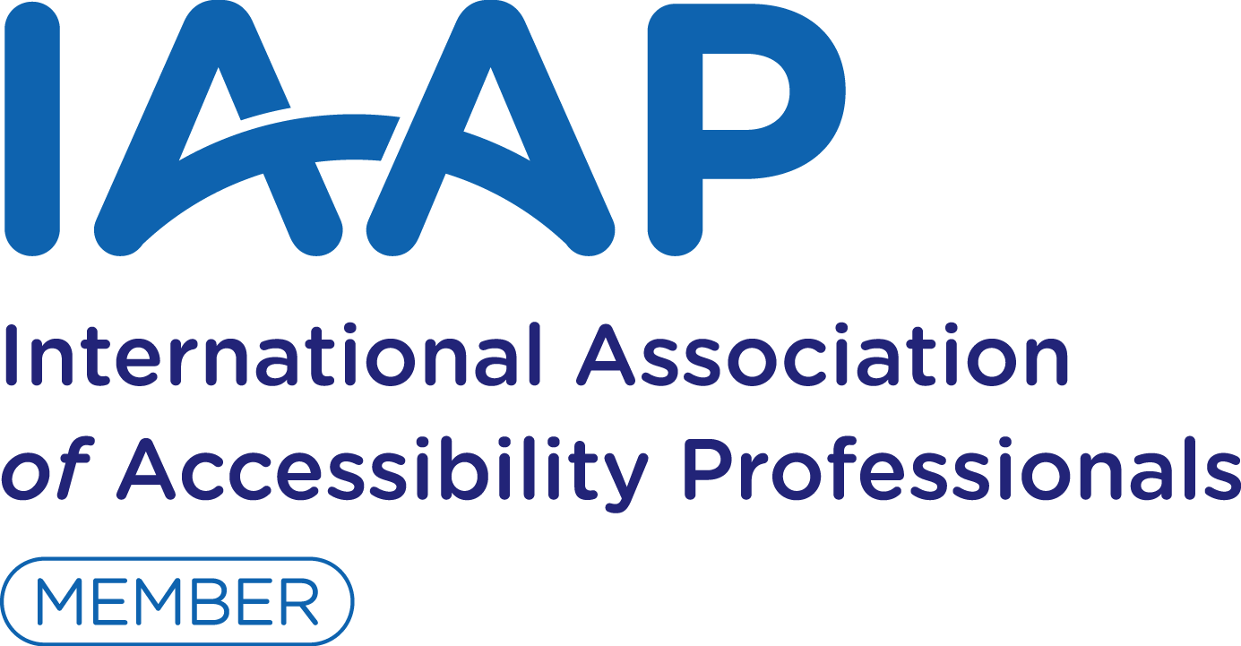 International Association of Accessibility Professionals, link opens in a new window